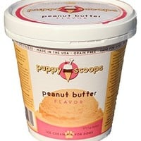 Puppy Scoops Ice Cream Mix: Peanut Butter 6 Oz