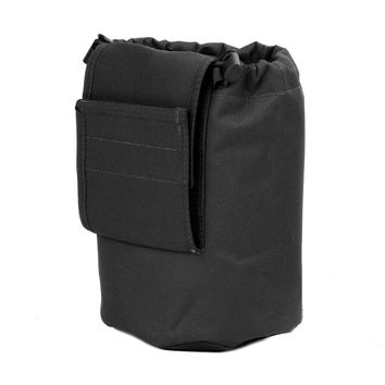 Large Collapsible Roll Up MOLLE Dump Pouch for Ammo, Brass, Magazines, Shells, and Misc Gear