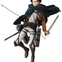 Medicom Attack on Titan: Levi Real Action Hero Figure