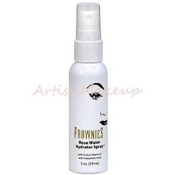 ORIGINAL FROWNIES ROSE WATER HYDRATING SPRAY ANTIAGING TONER - 2 OZ