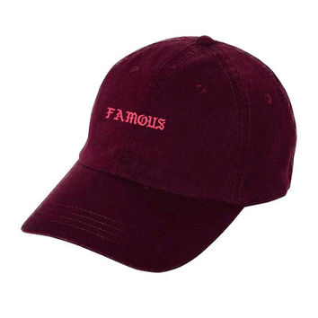 Famous Maroon Dad Hat