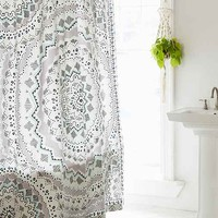 Plum & Bow Mia Medallion Shower Curtain