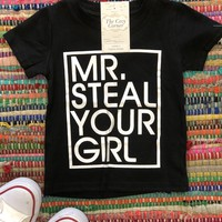 Boy's steal your girl shirt