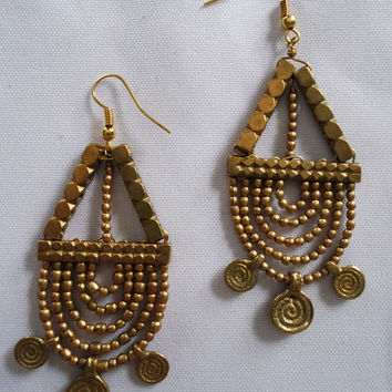Naga India Earrings