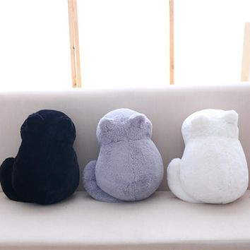 Kawaii Plush Cat Toys Stuffed & Cute Shadow Cat Dolls