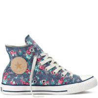 Converse - Chuck Taylor Floral - Hi - Dark Denim