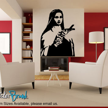 Vinyl Wall Decal Sticker Saint Theresa #854