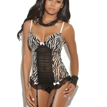 Exotic Bustier Set