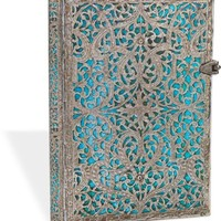 Maya Blue Midi Bound Lined Journal 5'' x 7''