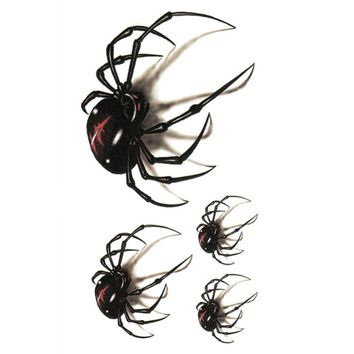 Korean Spider Shaped Tattoo Stickers Cute Tattoo Stickers For Men And Women Drop Shipping