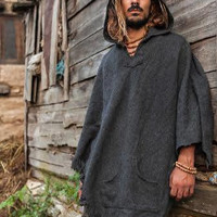 Wool Poncho For Men And Women