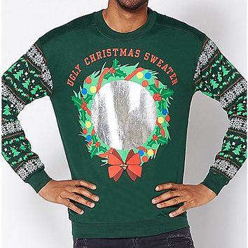 Mirror Ugly Christmas Sweater - Spencer's