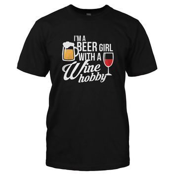 I'm A Beer Girl With a Wine Hobby