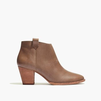 The Billie Boot in Leather : shopmadewell AllProducts | Madewell
