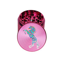 """Unicorn Dreams"" Holographic Herb Grinder Pink"