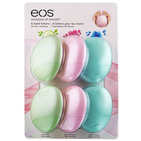 EOS Evolution of Smooth Hand Lotion Variety Pack - Cucumber, Berry Fresh, Fresh Flowers (Pack of 6)