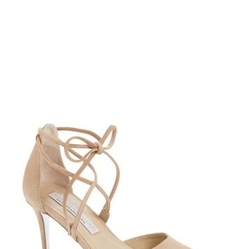 Kristin Cavallari 'Opel' Lace-Up Pointy Toe Pump (Women) | Nordstrom