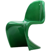 Verner Panton Style Green Chair | Overstock.com