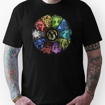MTG - FADED GUILD WHEEL Unisex T-Shirt