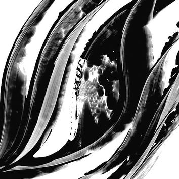 Black and White Painting BW Abstract Art Artwork High Contrast Depth Black Magic 302 Minimalism Minimalist Modern Contemporary Cummings