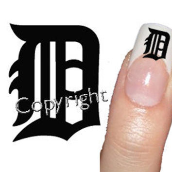 50 Detroit Tigers Decal sticker   Tattoo Nail Art 2 by Tarlidada