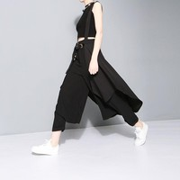 Alcalay Suspender Skirt