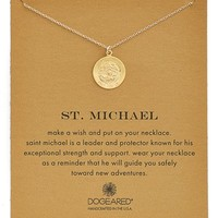 Women's Dogeared St. Michael Pendant Necklace