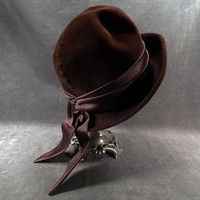 Beautiful Vintage Hat - Stylish Velour - Andre Exclusive of Paris & New York