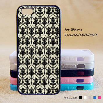 Sherlock Wallpaper Phone Case For iPhone 6 Plus For iPhone 6 For iPhone 5/5S For iPhone 4/4S For iPhone 5C iPhone X 8 8 Plus