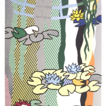 Water Lilies with Japanese Bridge Print by Roy Lichtenstein at Art.com
