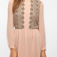 Pins and Needles Chiffon Dress