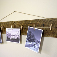 Barn Wood Picture Holder