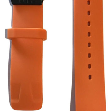 Tissot T-Race Touch Orange Rubber Strap Band for back-case T081420A