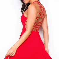 Roxy Dress - Red