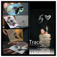 Trace (Gimmick and DVD) by Will Tsai -Magic Tricks  powerful tool card impressions Liquid,Accessories,stage magic props 81121