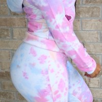 Cotton Candy Jogger Set
