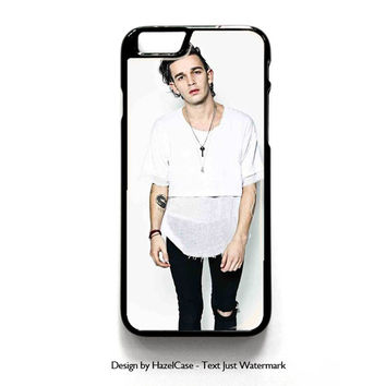 Matt Healy The 1975 Band 2 for iPhone 4 4S 5 5S 5C 6 6 Plus , iPod Touch 4 5  , Samsung Galaxy S3 S4 S5 Note 3 Note 4 , and HTC One X M7 M8 Case Cover