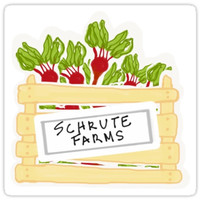 'The Office Schrute Farms' Sticker by hfizer017