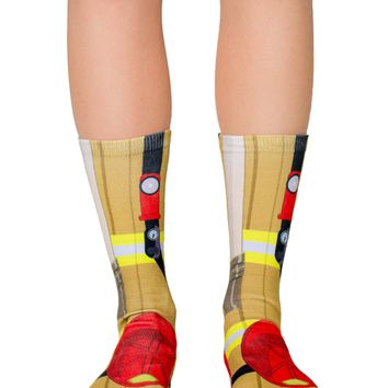 Firefighter Crew Socks