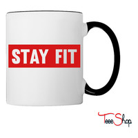 Stay Fit Coffee & Tea Mug