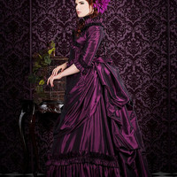 Mina Dracula Victorian Bustle Gown Lower Price Version Custom
