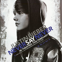 Justin Bieber Never Say Never Music Film Poster 22x34