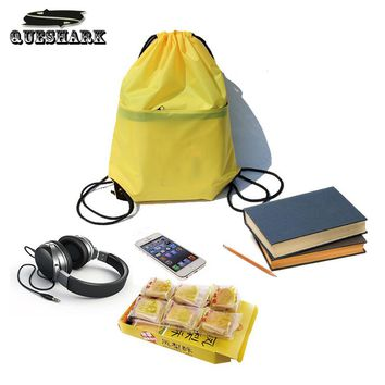 20L Unisex Zipper Drawstring Waterproof Sport Gym Bag Travel Storage Pouch Shopping Backpack Outdoor Camping Hiking Picnic Bags