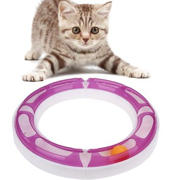 Tracking Tunnel Ball For Cat