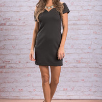 Shapely Situation Dress, Black