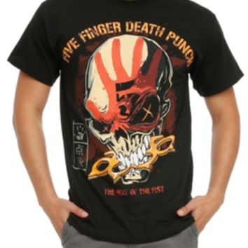 Five Finger Death Punch Way Of The Fist T-Shirt