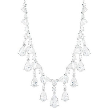 Nadri Cubic Zirconia Drop Necklace