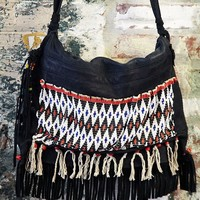 Free People Vintage African Fulani Bag #1052