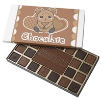 Dark Brown 45 Piece Box Of Chocolates