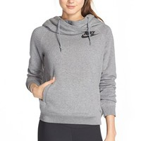 Women's Nike 'Rally' Funnel Neck Hoodie,